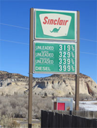 Sinclair Gas Available
